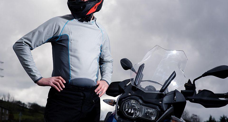 Koszulka motocyklowa Tornado Advance Forcefield – motocyklista